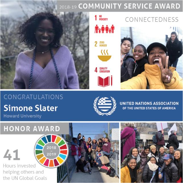 National Community Service Awards