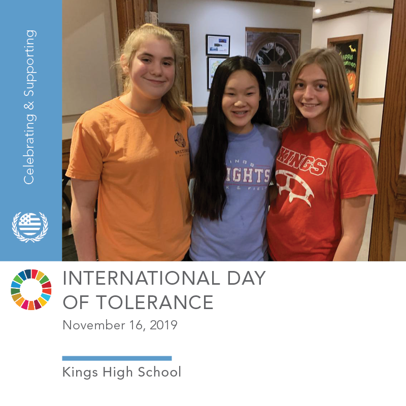 11.16.19 Intl Day of Tolerance